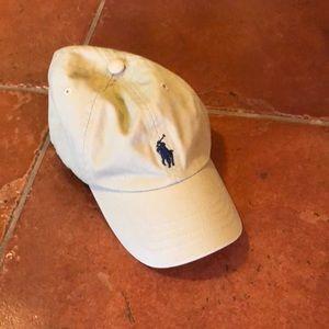 Infant polo ralph lauren tan hat